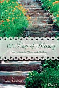100 Days of Blessing by Nancy Campbell