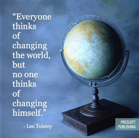 Everyone Thinks of Changing the World