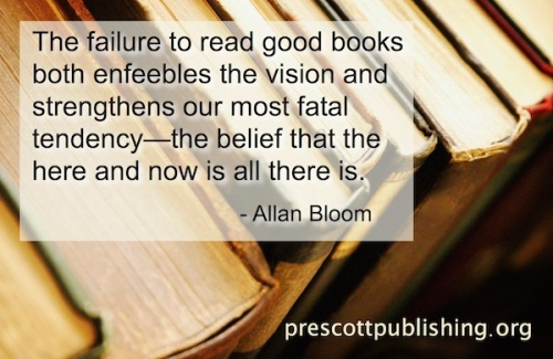 Don't fail to read good books...