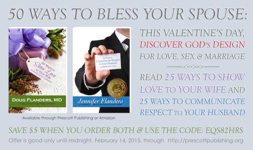 50 Ways to Bless Your Spouse -- a special offer for Valentine's Day!